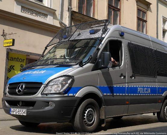 """Policja Łódź: Łódzcy policjanci na trasie """"Biegu dla Bohaterów 2019"""""""