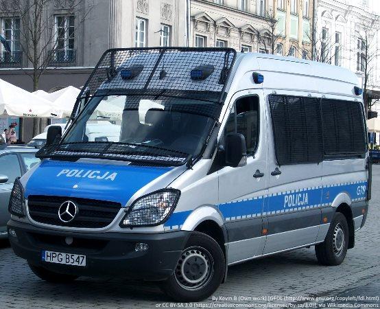 Policja Łódź: Podziękowania dla funkcjonariuszy VI Komisariatu Policji