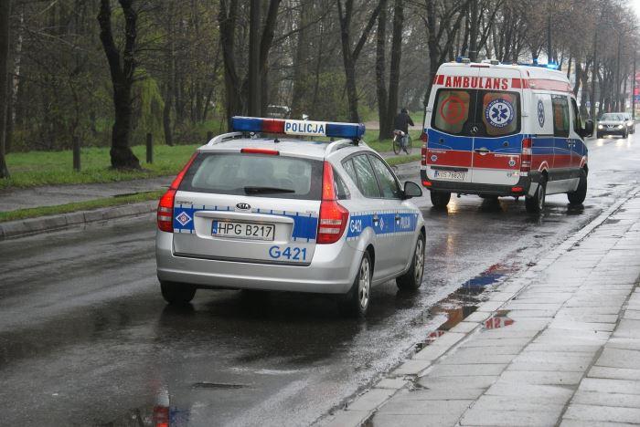 Policja Łódź: Pijany spowodował kolizję