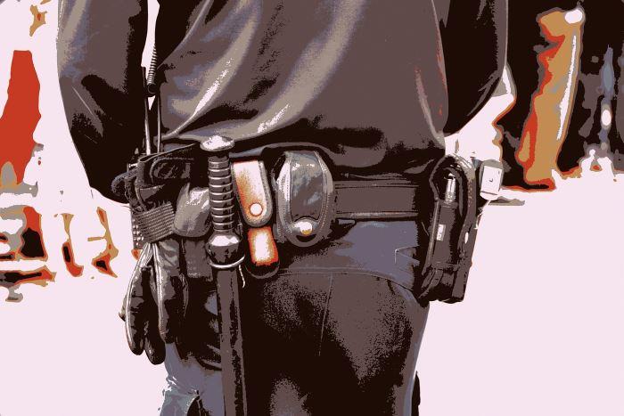Policja Łódź: Policjanci dbają o bezpieczeństwo i porządek publiczny w Łodzi w trakcie trwania protestów